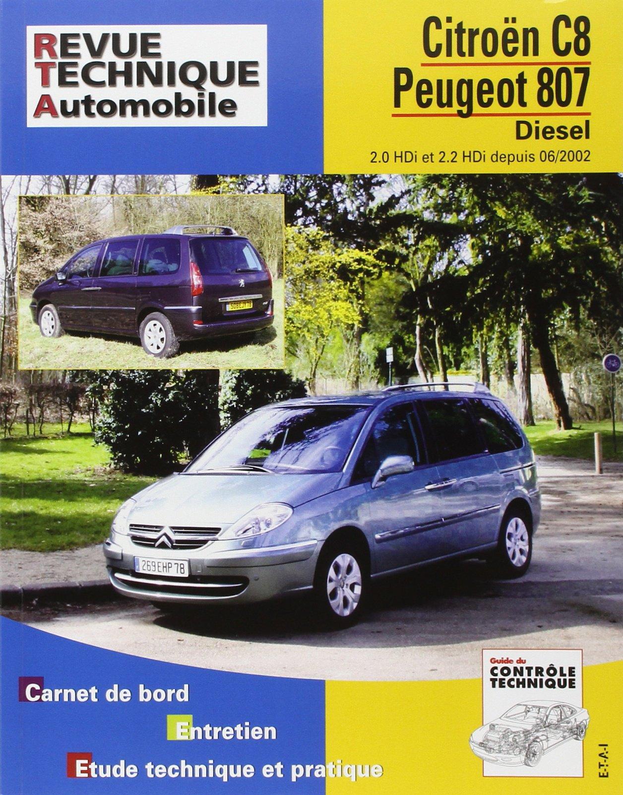 1007 PDF PEUGEOT TÉLÉCHARGER REVUE GRATUITEMENT TECHNIQUE