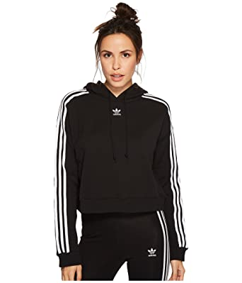 784e596a68e adidas Originals Women's Cropped Hoodie at Amazon Women's Clothing ...