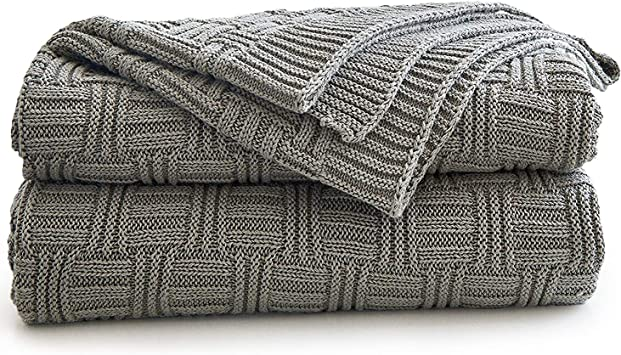 Bed Throw 100/% Top Quality Beautiful Cotton Check Design Sofa Throw,Chair Throw
