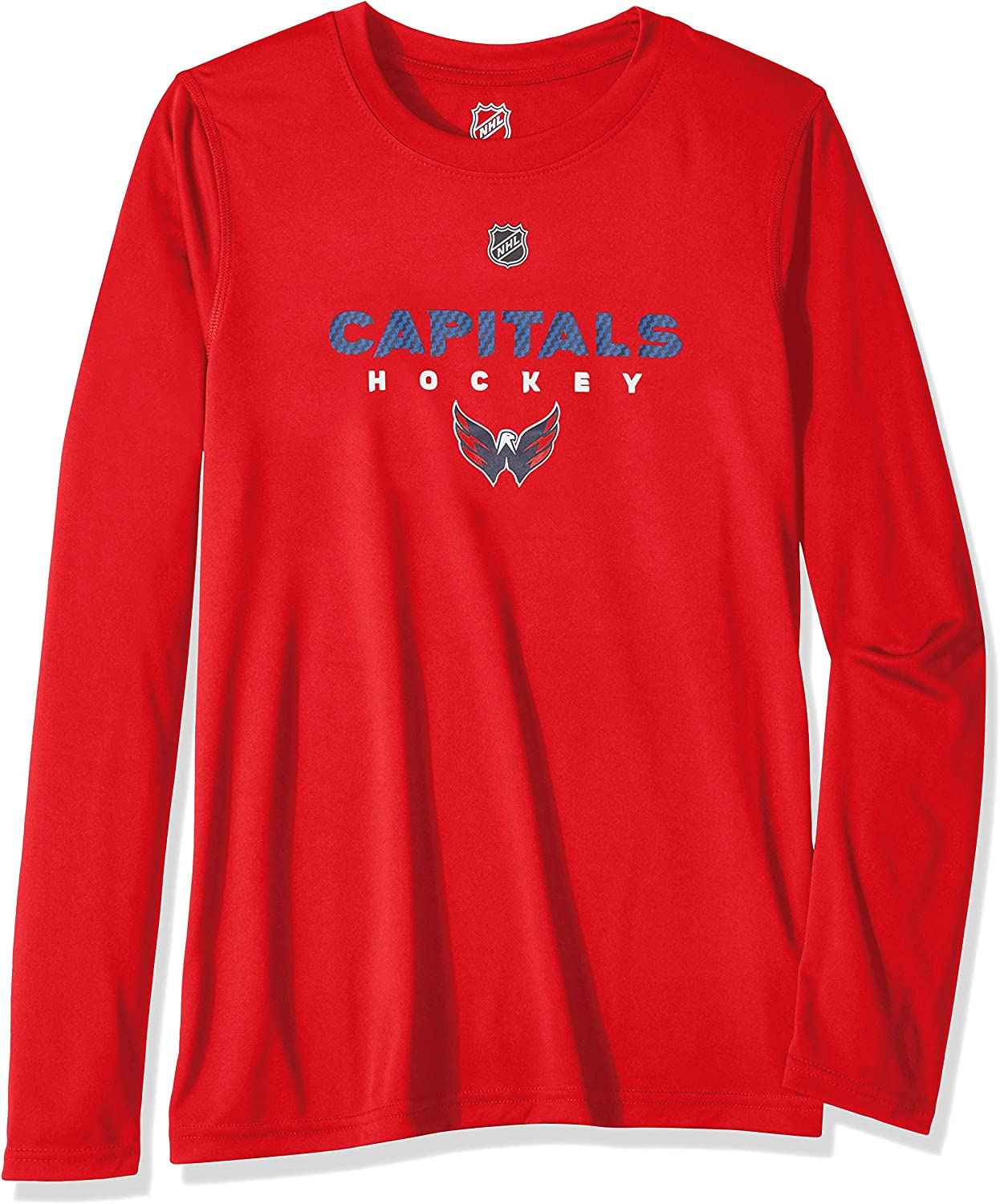 NHL by Outerstuff Youth Boys Hyper Long Sleeve Performance Tee