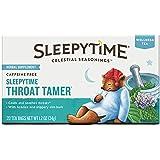 Celestial Seasonings Sleepytime Throat Tamer Tea, 20 Count
