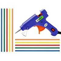 20W 20 WATT 7MM HOT MELT Glue Gun with ON Off Switch and LED Indicator