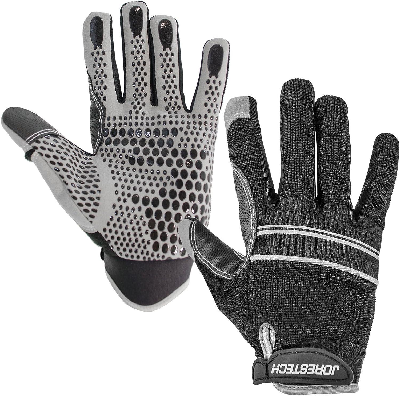 JORESTECH Work Gloves Multipurpose (Extra Large, Black)