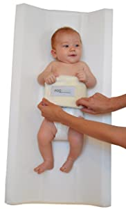 Best Travel Diaper Changing Pad - PooPoose Wiggle Free Diaper Changing Table Pad
