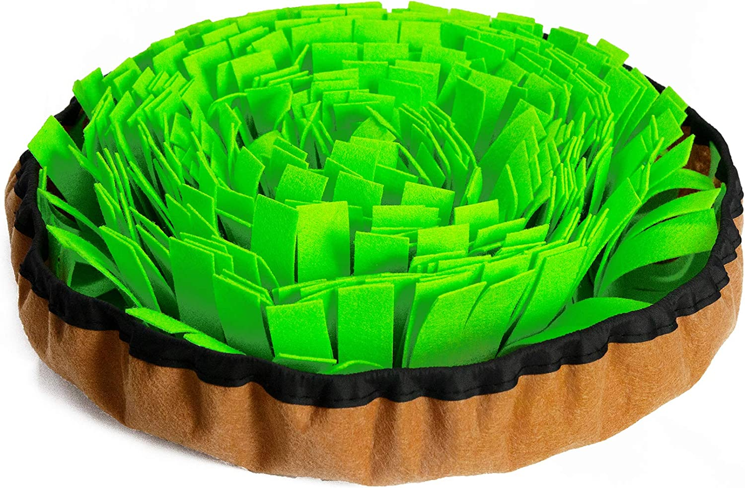 ISENVO Upgraded Snuffle Mat for Dogs Interactive Feed Game Stress Relief Encourages Dogs Hunting Natural Foraging Skills and Training Smell Toys, Slow Feeder Mat Toys Dog Gifts