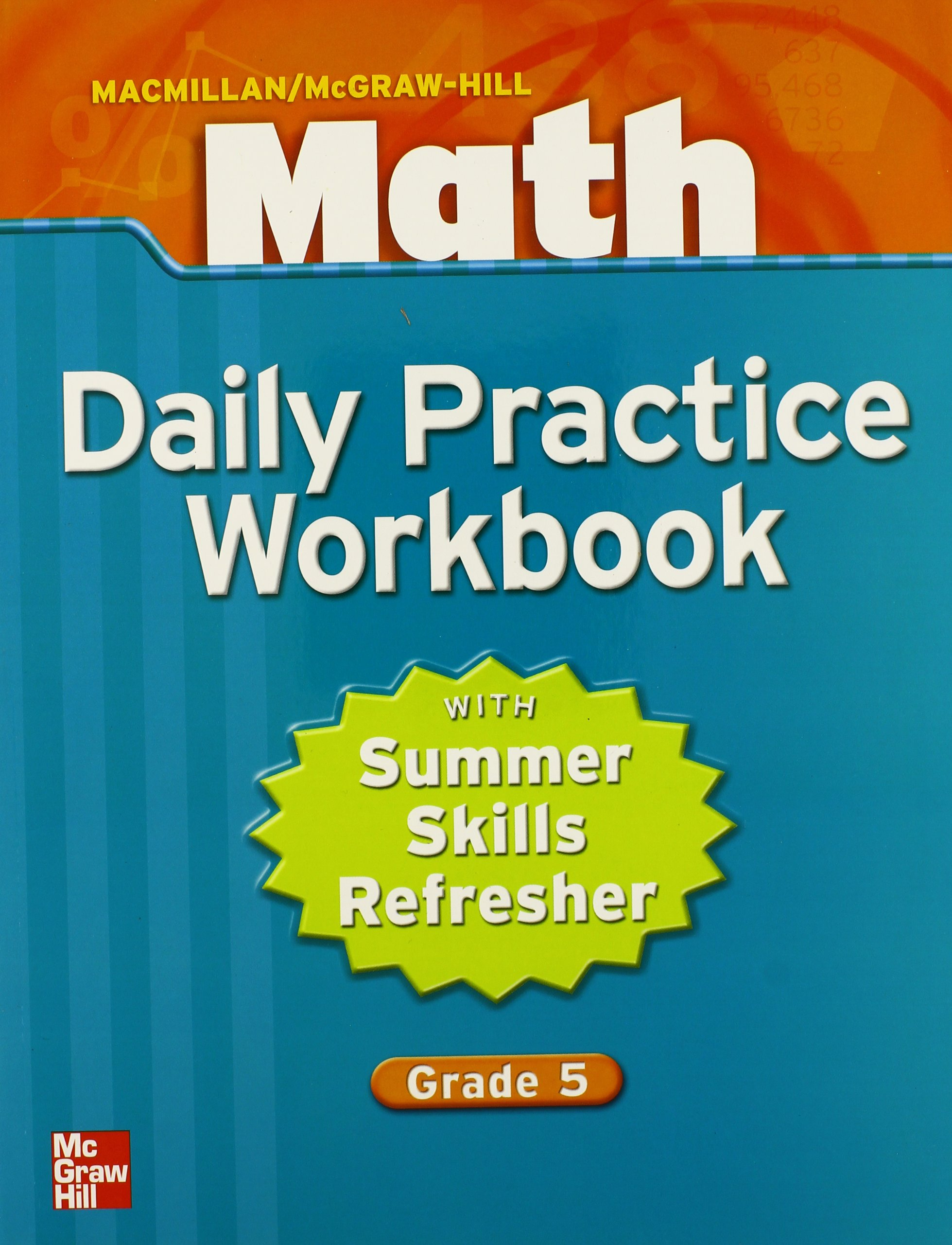 Macmillan/McGraw-Hill Math, Grade 5, Daily Practice Workbook (MMGH ...