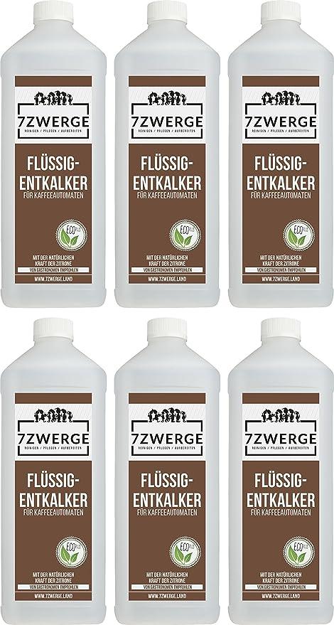 7Zwerge I Descalcificador líquido para cafeteras totalmente ...
