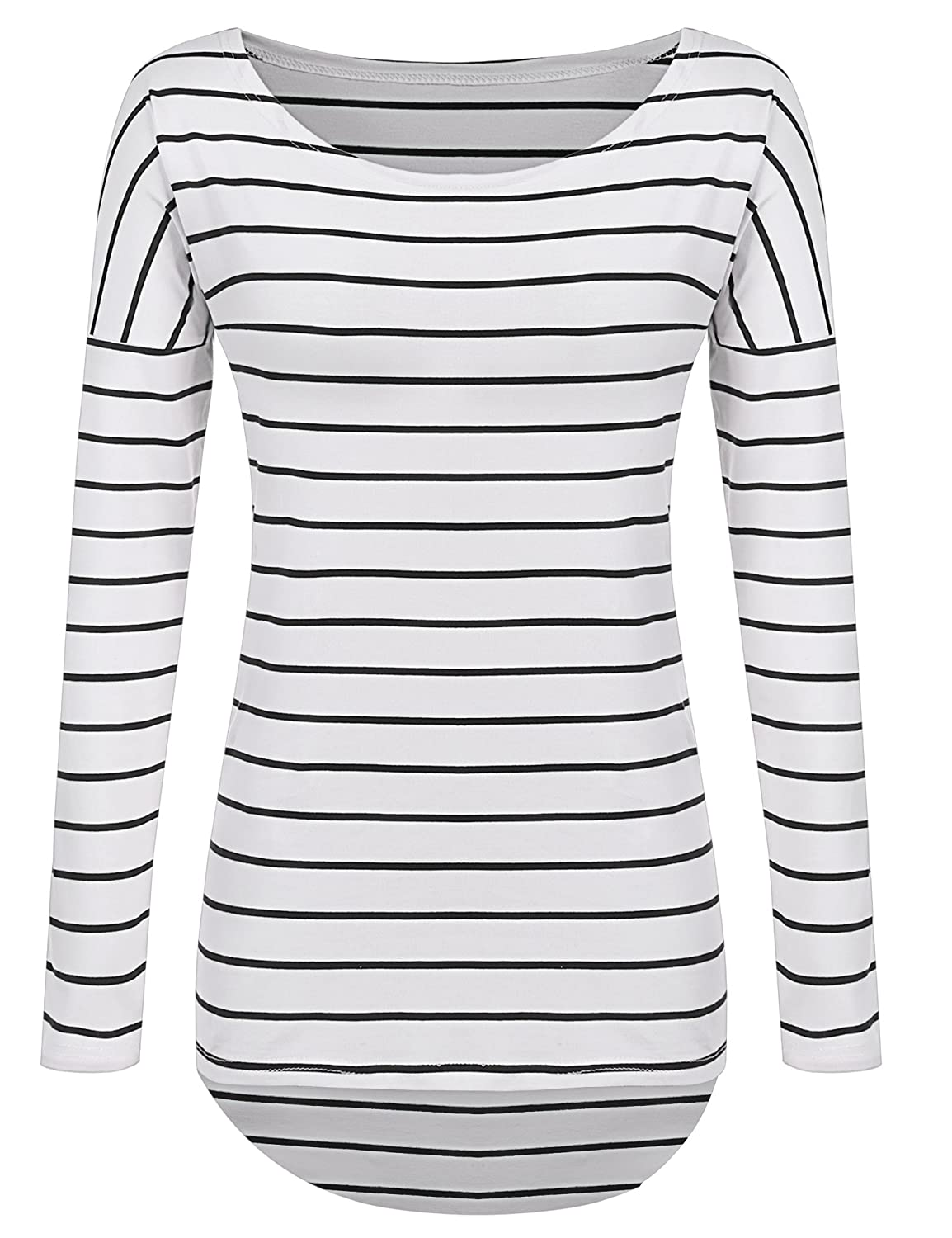 6bc7dcc0efccdd Long Sleeve Striped Blouse t