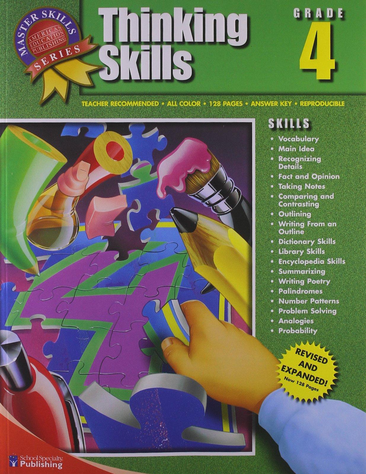 Read Online Thinking Skills, Grade 4 (Master Skills) ebook