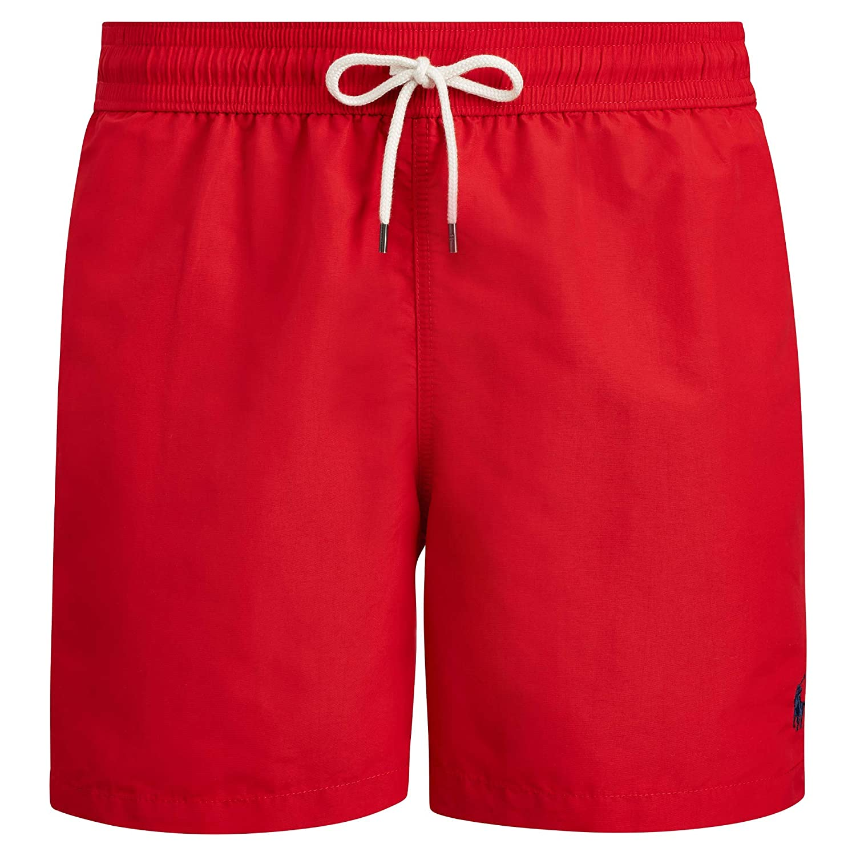 Polo Ralph Lauren Hawaiian - Bañador para hombre rojo XL: Amazon ...