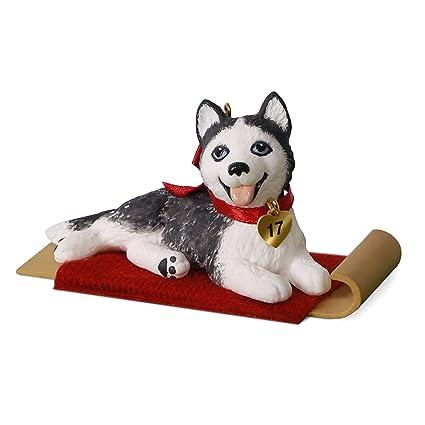 Amazon.com: Hallmark Puppy Love #27 Siberian Husky Keepsake ...