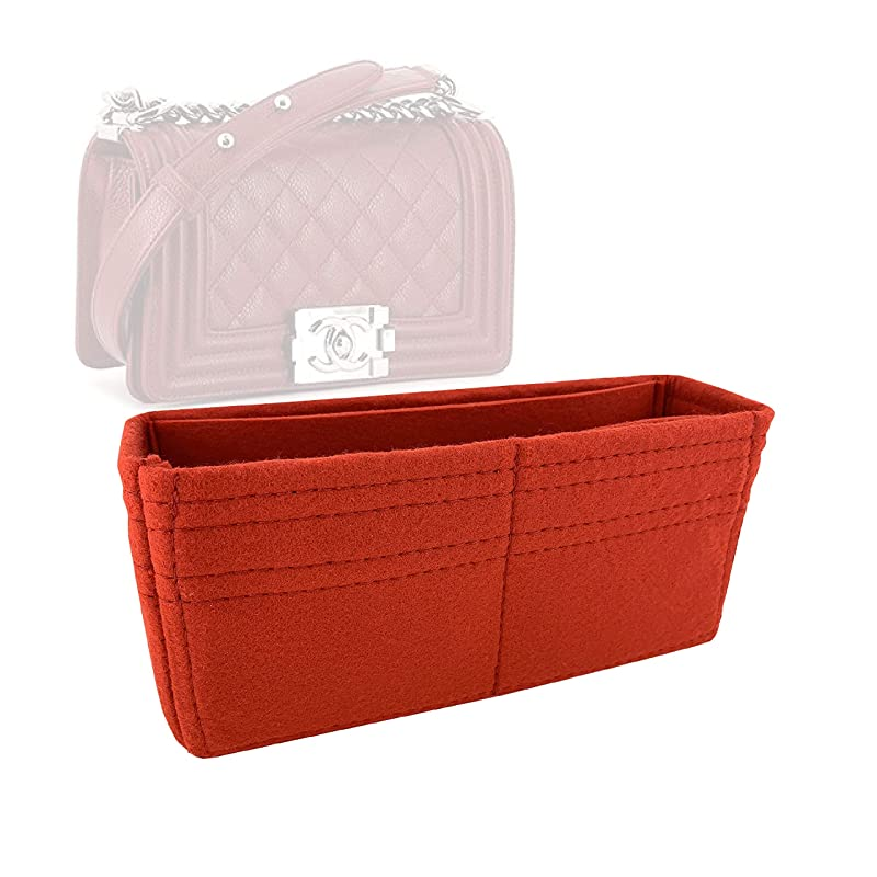 Made by Zoomoni Organizer 19B Rolled Up Drawstring Bucket Bag Premium Felt Small