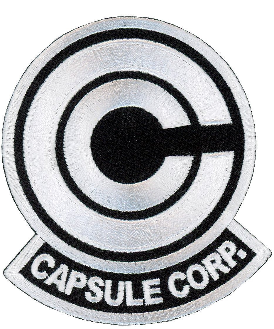 Titan One Europe Capsule Corp Cosplay Jacket Patch Iron On /Écusson Brod/é Patch Thermocollant