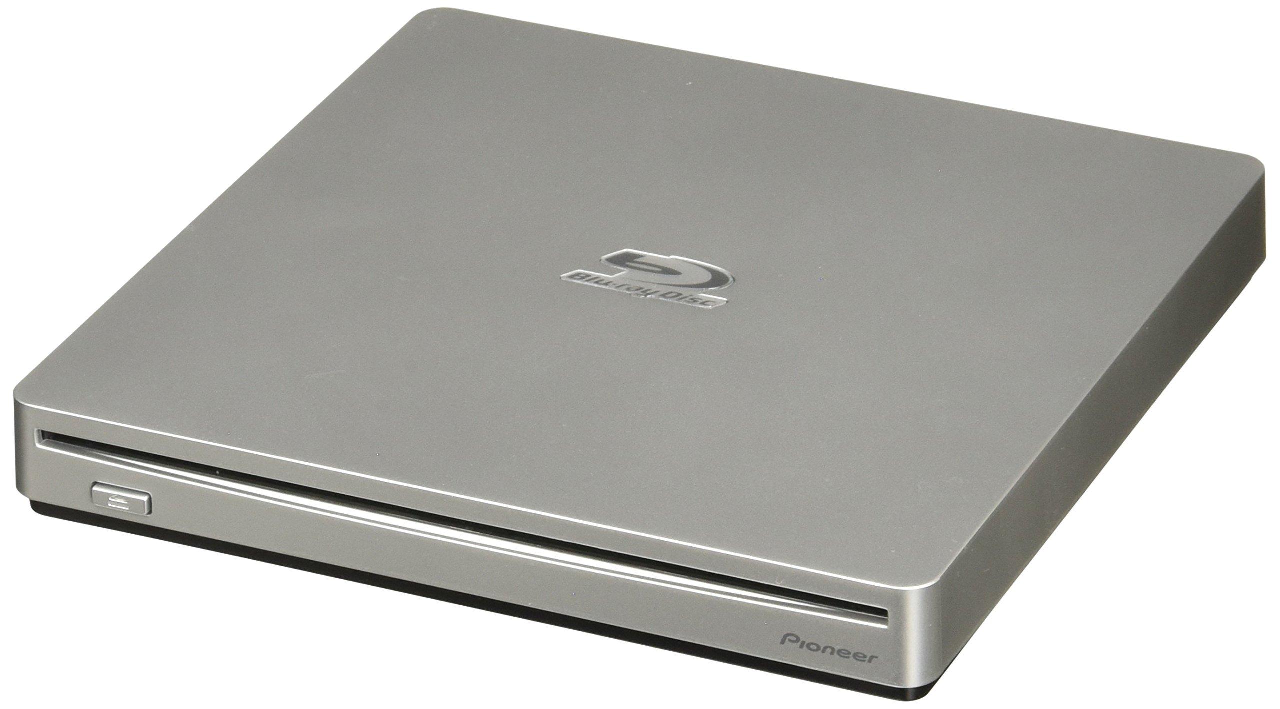 Pioneer BDR-XS06 Blu-Ray 6X/DVD/CD USB 3.0 Slim External Slot Burner by Pioneer