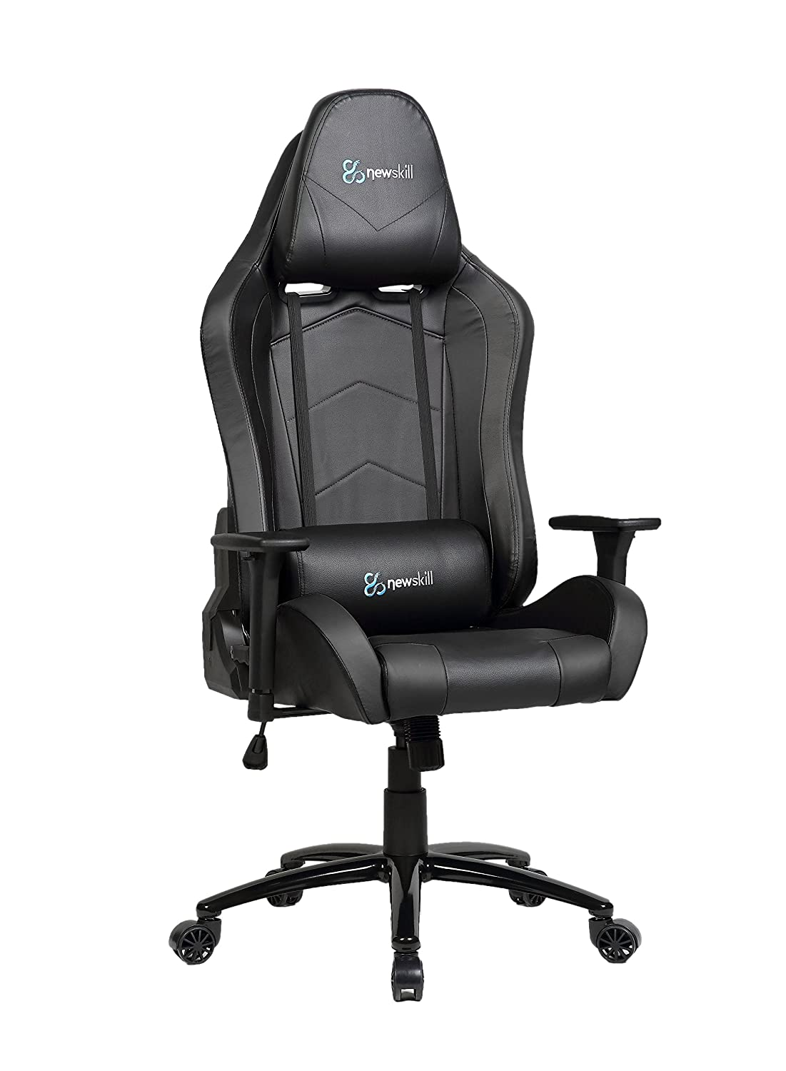 Newskill Takamikura - Silla Gaming Profesional (inclinación y Altura Regulable, reposabrazos Ajustables, reclinable 180º), Color Negra: Amazon.es: ...