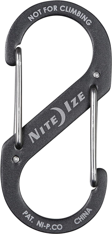 Assorted Nite Ize SB234-03-11 S-Biner Dual Carabiner Stainless