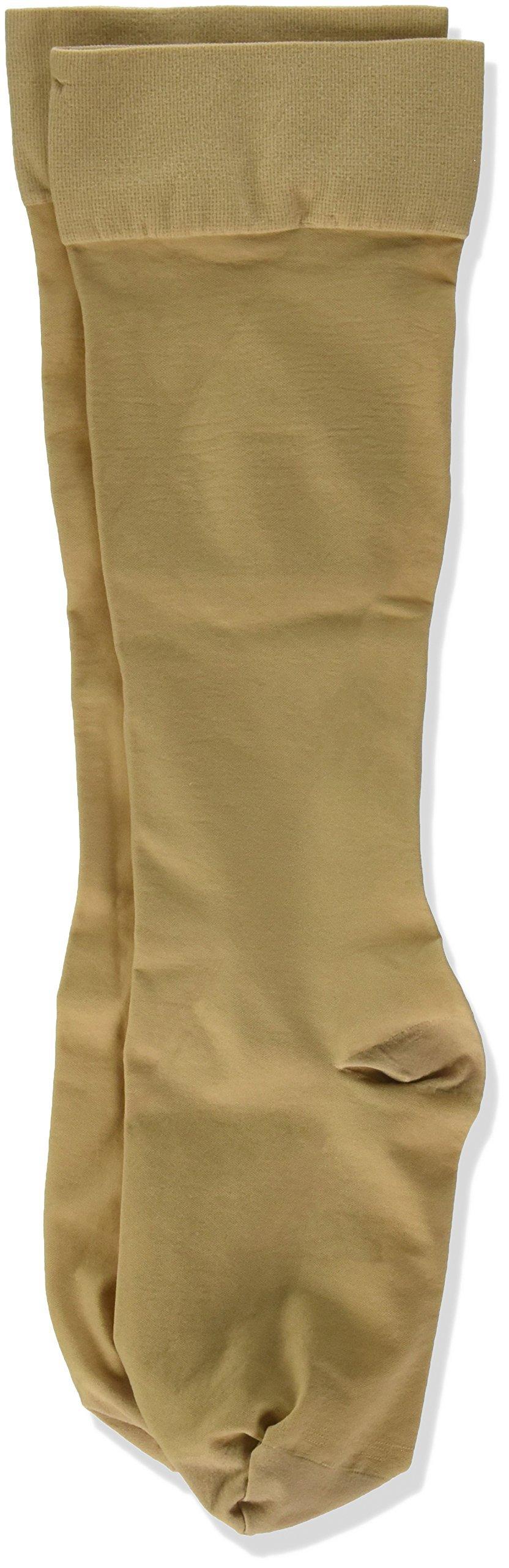 Jobst Women's UltraSheer Moderate Support Knee Highs, Large, beige