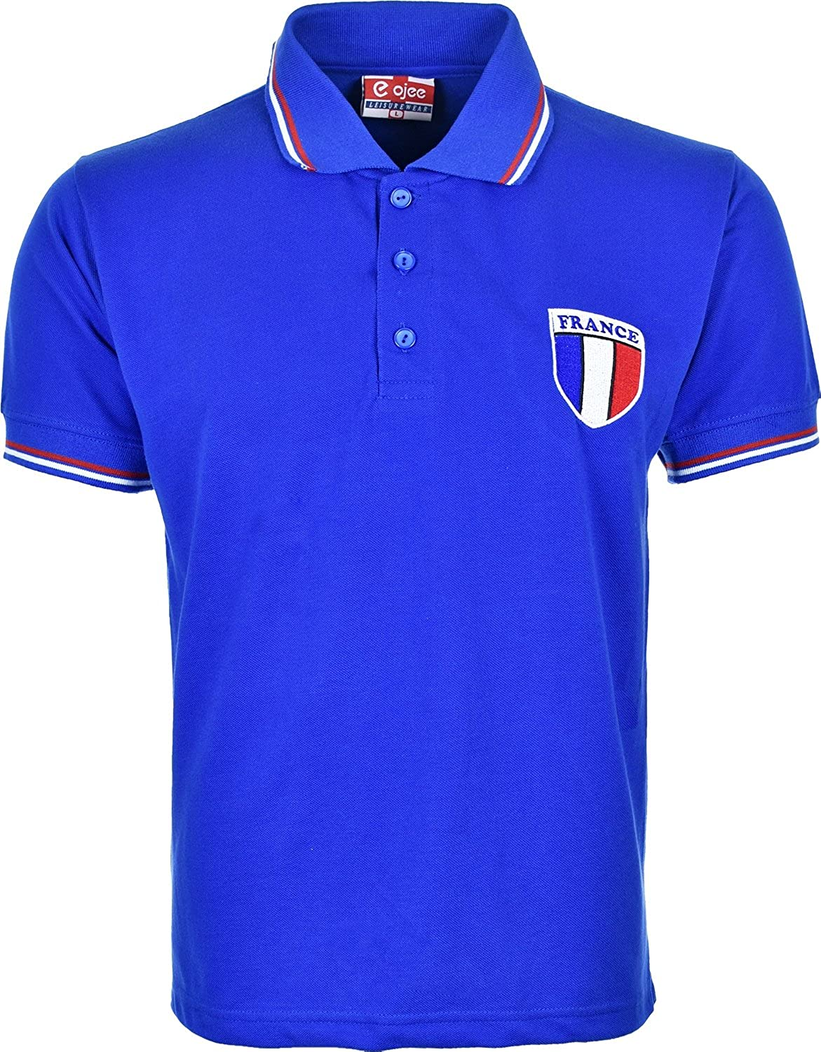 Activewear Kids Children France French World Cup Polo T Shirts Xl 7 Fashion Big Size Shirt 4xl 8 Years Clothing