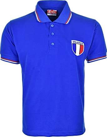 1d0bb72a1 Activewear Kids Children France French World Cup Polo t Shirts  Amazon.co.uk   Clothing