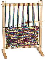 Melissa & Doug Wooden Multi-Craft Weaving Loom (Arts & Crafts, Extra-Large Frame, Develops Creativity and Motor Skills, 16.5