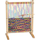 Melissa & Doug 9381 Wooden Multi-Craft Weaving Loom: Extra-Large Frame (22.75 x 16.5 inches)
