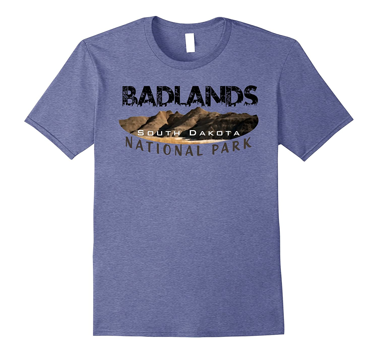7b0f7bab2336c Badlands National Park Travel Journey Explore Earth Summer T-ANZ