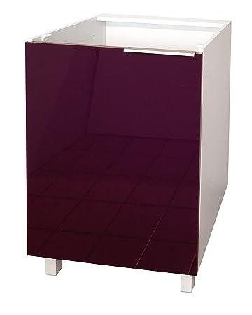 Berlenus CP6BA Tür für Küchenschrank, 60 cm, hochglanzpoliert ...