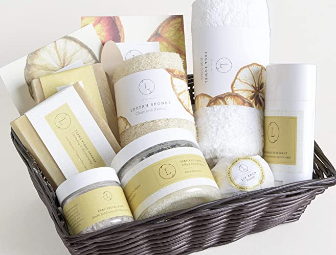 FREE SHIPPING Citrus Spa Gift Set