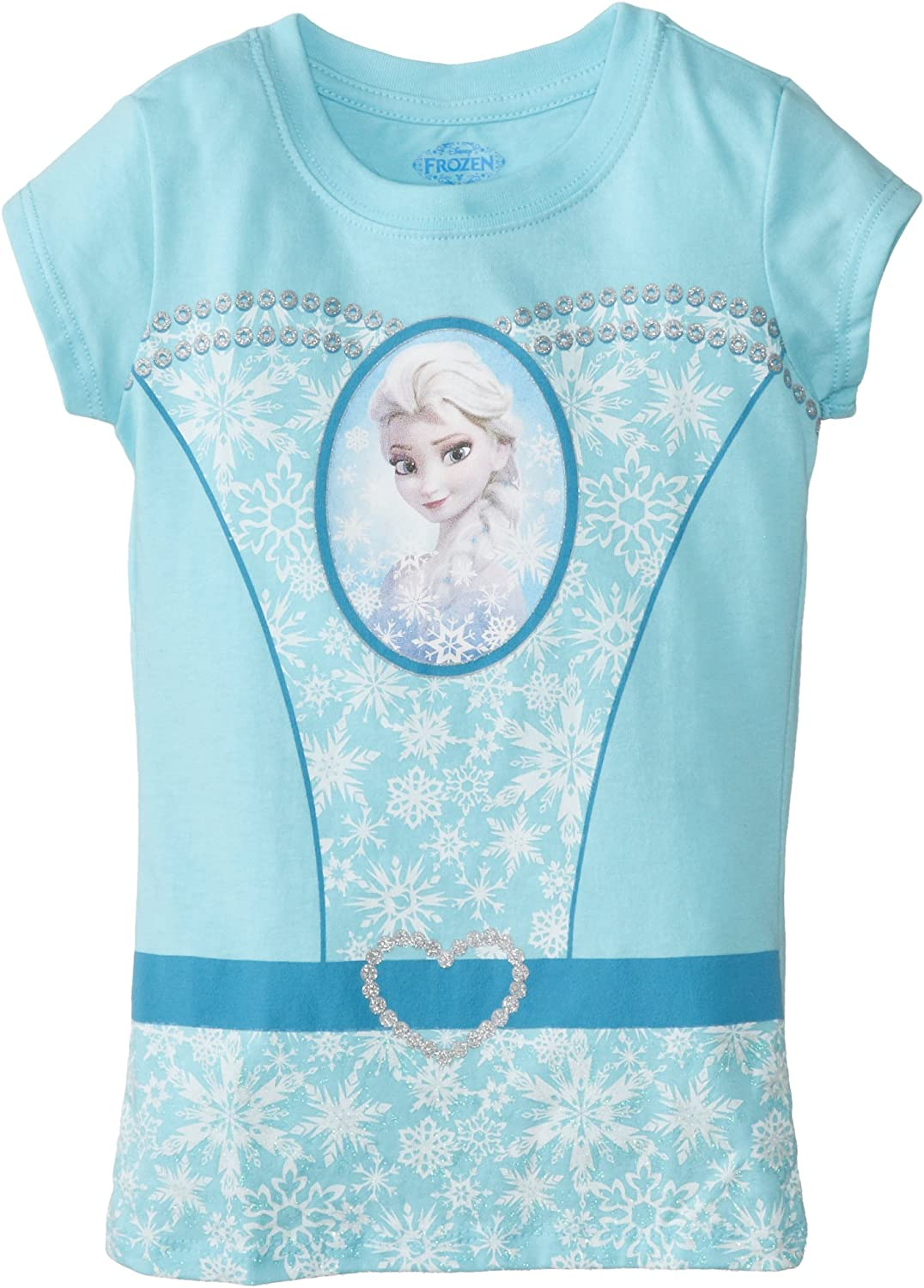 Ladies fitted and kids FROZEN 2 inspired SNOWFLAKE T-shirt