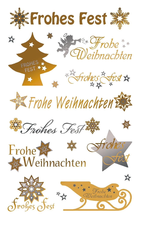 Frohes Fest dorado