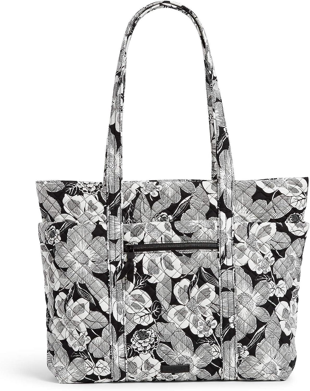 Vera Bradley Signature Cotton Deluxe Vera Tote Bag