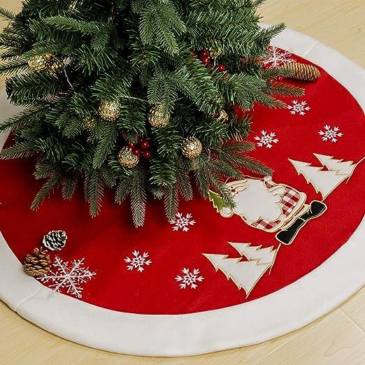 GIGALUMI - Falda para árbol de Navidad (90 cm, Terciopelo), diseño ...