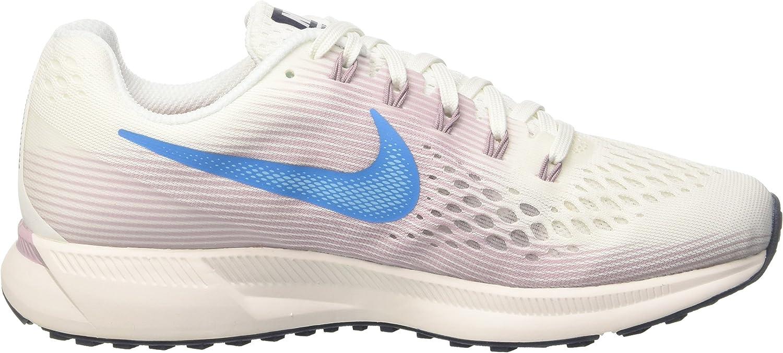 Nike Damen Air Zoom Pegasus 34 Laufschuhe Mehrfarbig Summit White Equator 105