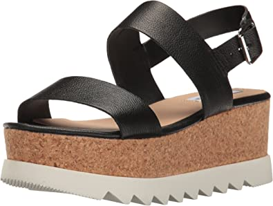Steve Madden (Kids Girls) Natural Krista Platform Sandals