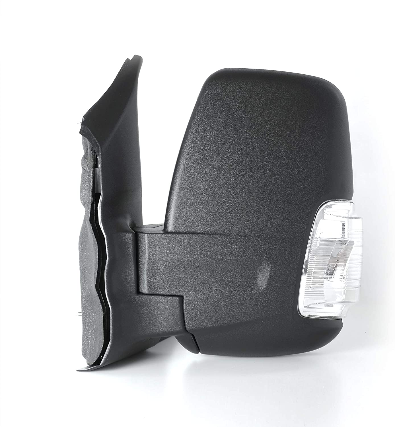 Spieg Driver Side Door Side Mirror Turn Signal Lamp Replacement for Ford Transit 150 Cargo 2015-2017