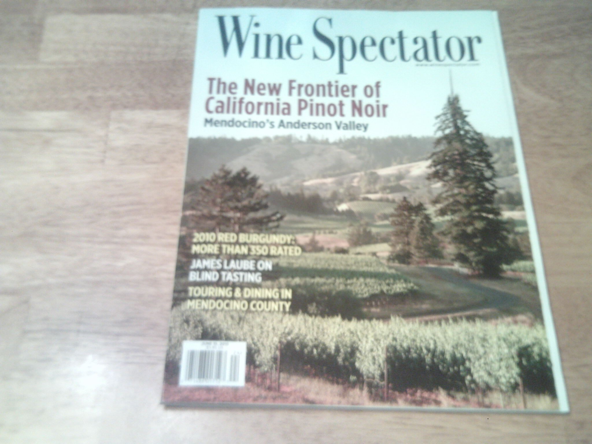 Download Wine Spectator 2013 June 15 - The New Frontier of California Point Noir. Mendocin,s Anderson Valley pdf