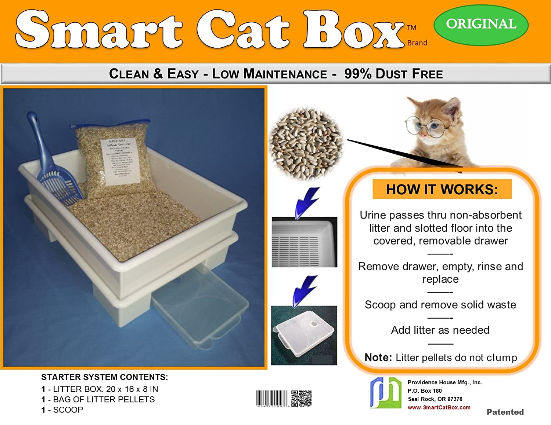No Sodium Bentonite – 99% Dust Free – No Allergies – Healthier for Cats, Healthier for Cat Parents, Eco-Friendly, No Harm to Landfills