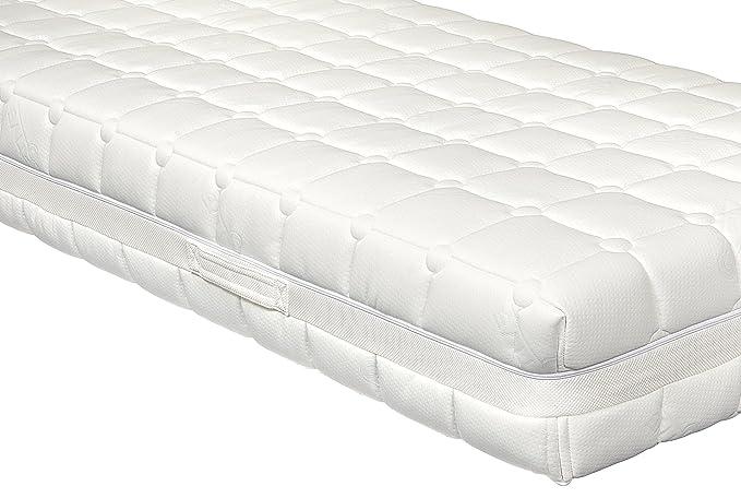 Yanis Dunlop 800 colchón de látex en Varios tamaños, Tela, Blanco, Euro Double (140x200cm): Amazon.es: Hogar