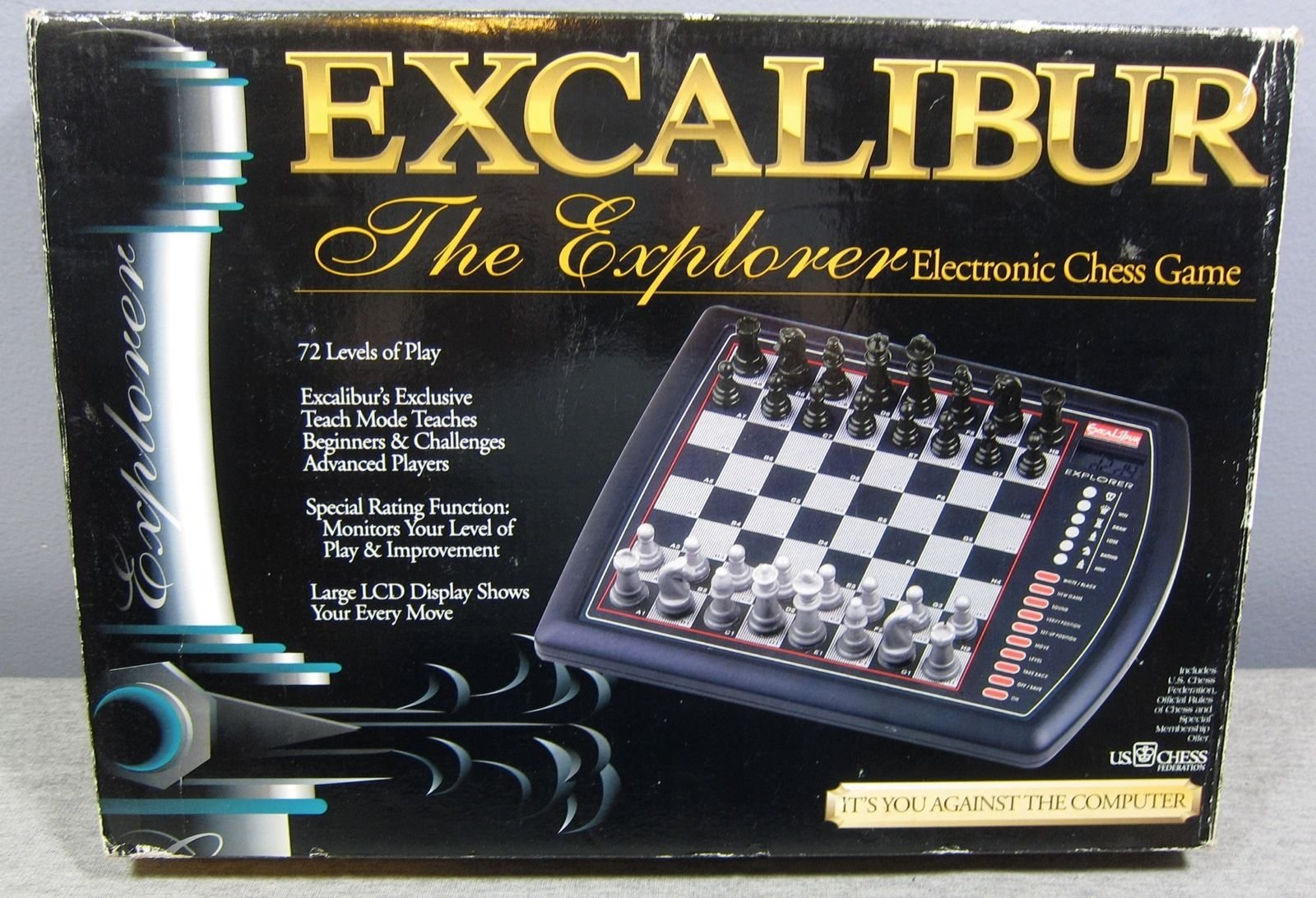 Excalibur the Explorer Electronic Chess Game
