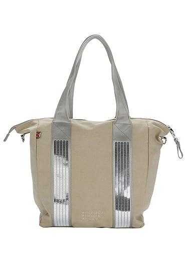 modischer Stil neue hohe Qualität neueste trends von 2019 George Gina & Lucy Damen Handtasche SFANCY Pailletten sand ...