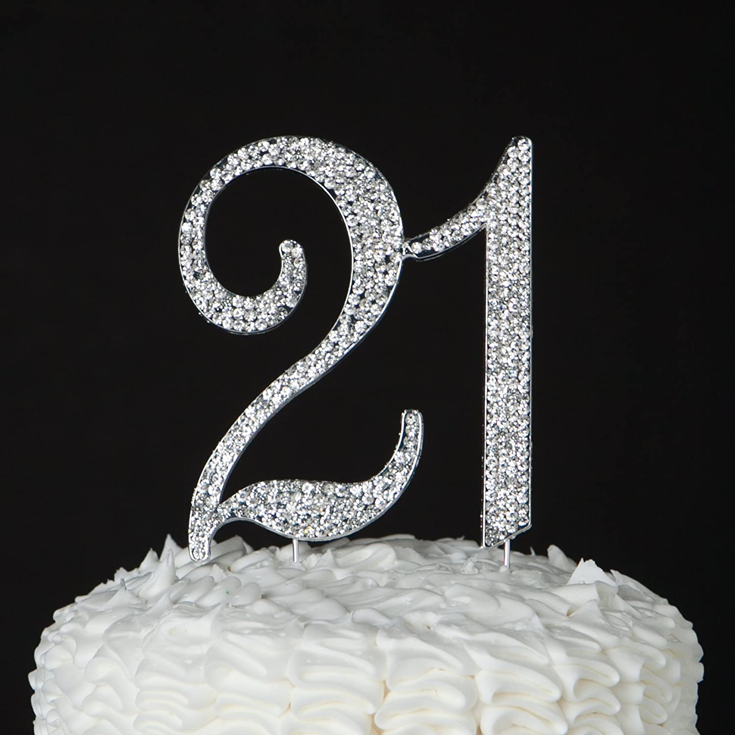 Amazon 21 Cake Topper For 21st Birthday Party Supplies