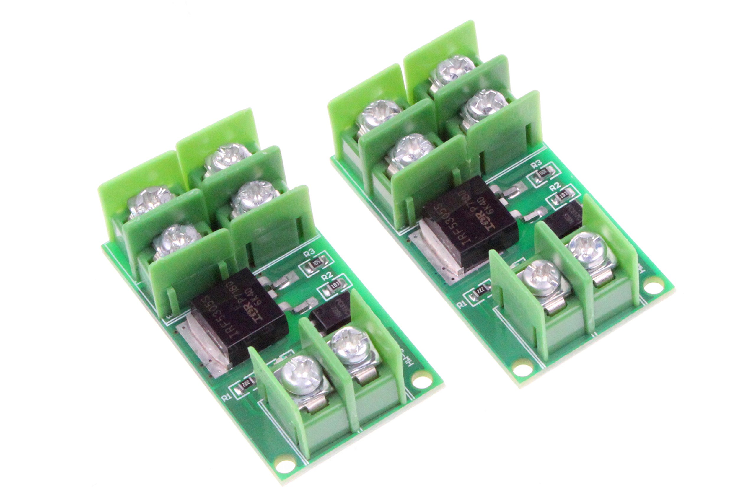 Electronic Switch Control Board Isolation MOS FET Pulse Trigger Switch Control Module DC Control -DC 5-36V Input Controlled voltage - 2Pcs by NOYITO