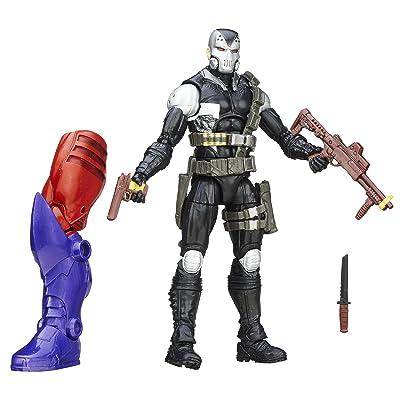 Marvel 6 Inch Legends Mercenaries of Mayhem Scourge Action Figure (Build Red Skull): Toys & Games