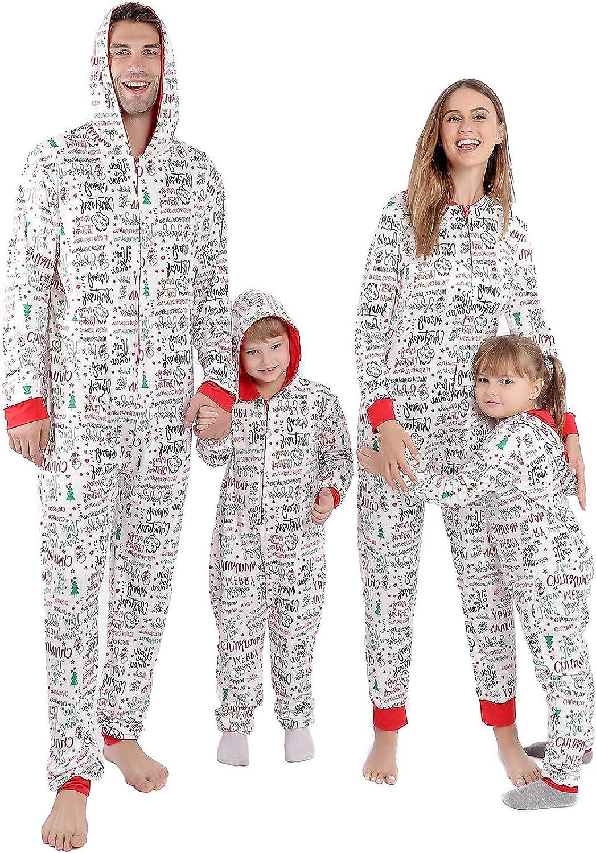 Pijamas de Navidad a juego para la familia, fiesta PJs para mujeres/hombres/niños/parejas/adultos, vacaciones lindo impreso ropa de salón