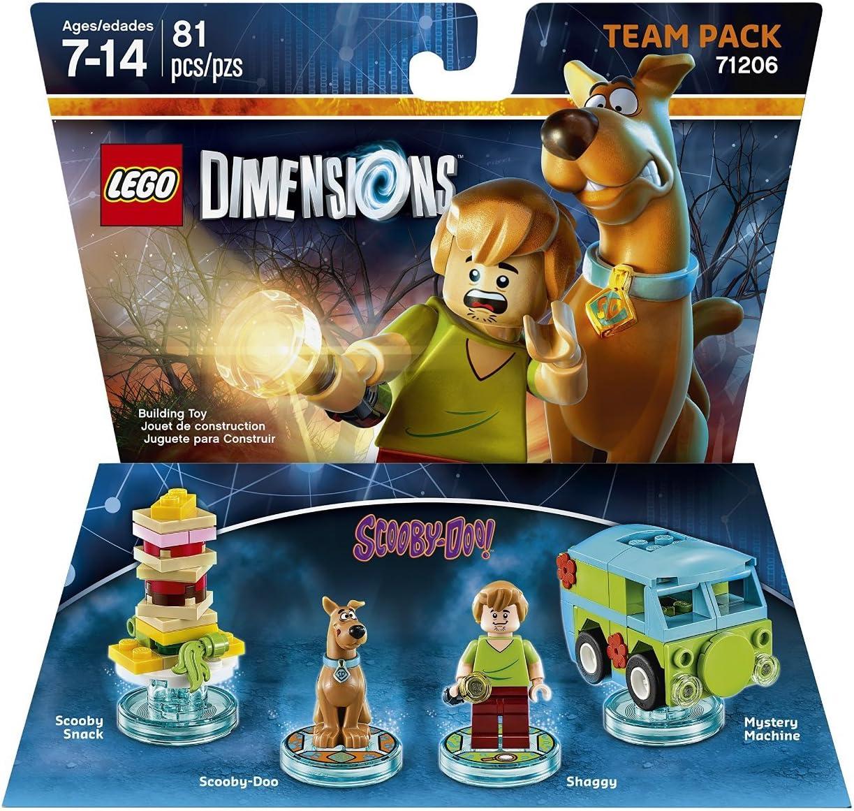 Scooby-Doo! Dimensions Team Pack: Amazon.es: Videojuegos