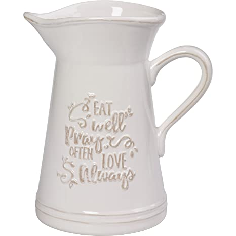Precious Moments 173410 Ceramic Kitchen Utensil Holder Or Pitcher, One Size