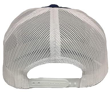 862d4d64474 El chapito 701 2   Aguila a lado All Gold 2 Logos Hat Royal White mesh at Amazon  Men s Clothing store