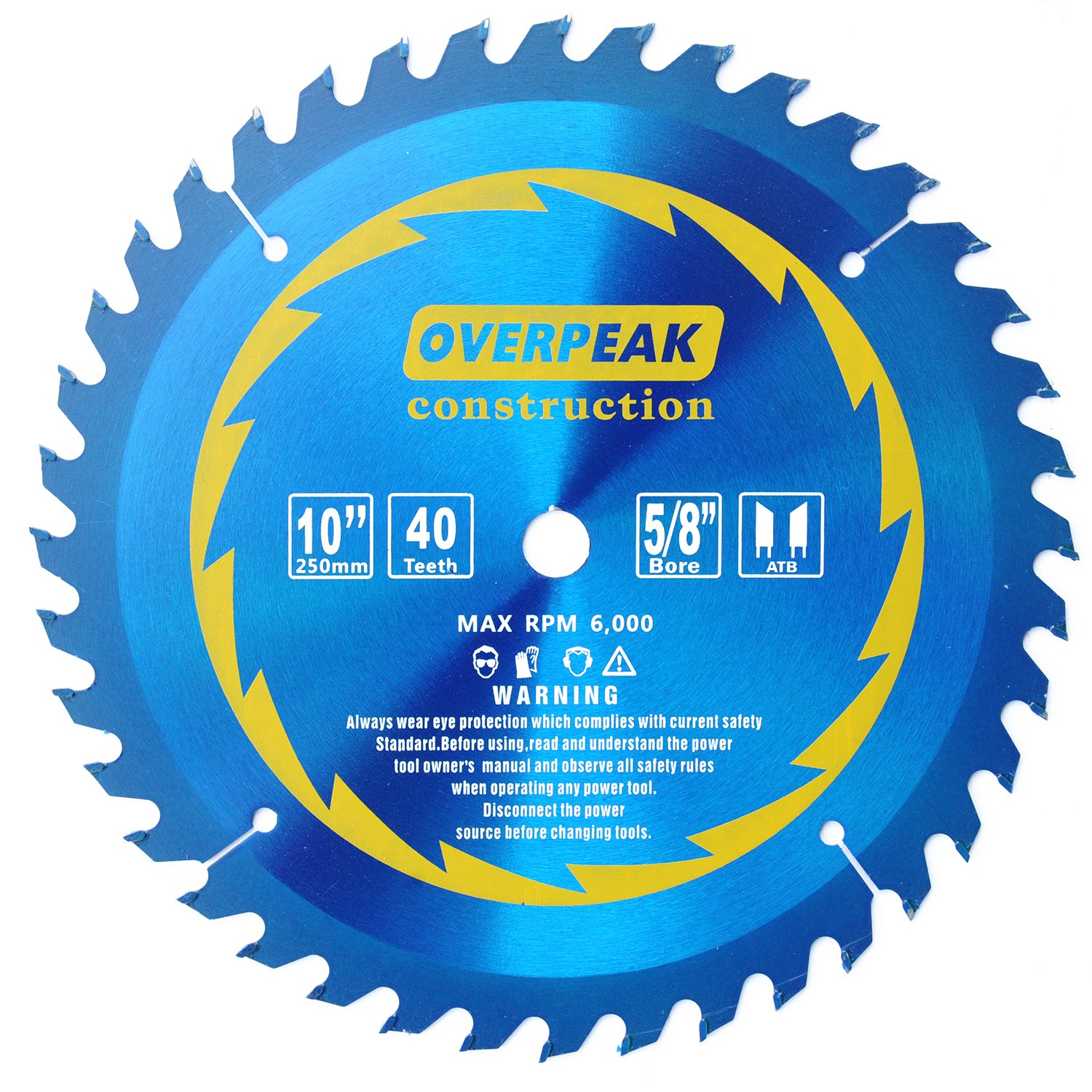 Overpeak 60 tooth diablo ultra fine circular saw blade for wood and overpeak 60 tooth diablo ultra fine circular saw blade for wood and wood composites 12 inch amazon greentooth Image collections
