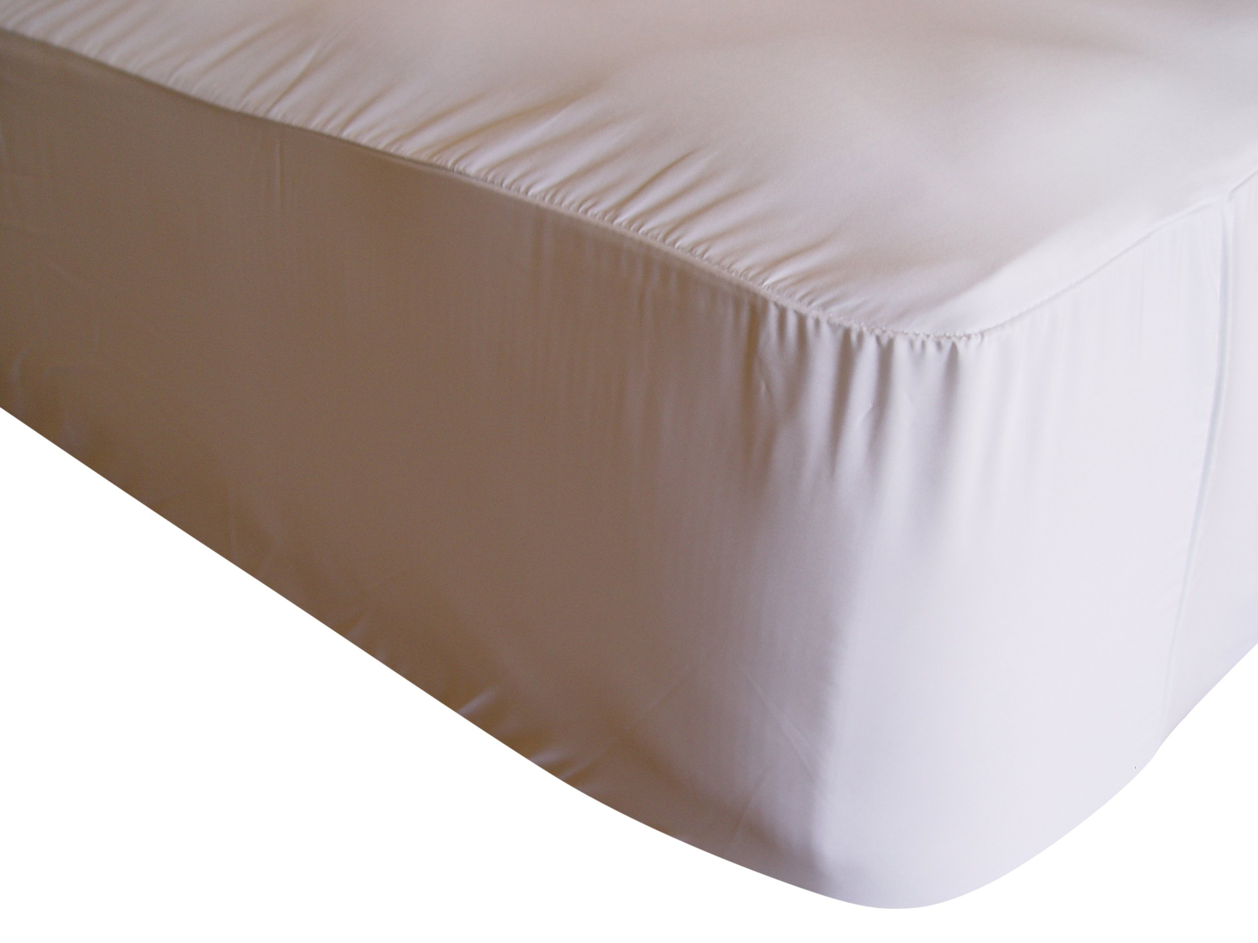"Dust Mite- and Allergen-Proof Fitted Mattress Encasing; ""Premium Microfiber"" (King)"