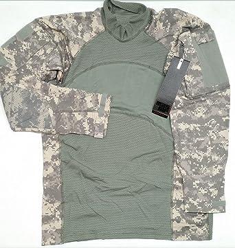 Amazon.com  Massif US Army Combat Shirt (ACS) Flame Resistant ACU ... ff97a06193ec